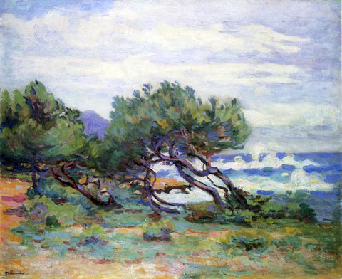 Armand Guillaumin Le Pointe du Lou Gaou, Storm, Brisk Wind - Hand Painted Oil Painting