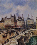 Camille Pissarro Le Pont-Neuf - Hand Painted Oil Painting