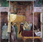Master saint Cecilia Legend of St Francis: 26. The Healing of a Devotee of the Saint - Hand Painted Oil Painting
