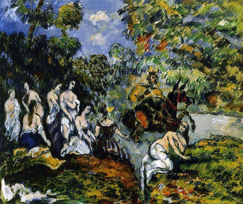 Paul Cezanne Legendery Scene - Hand Painted Oil Painting