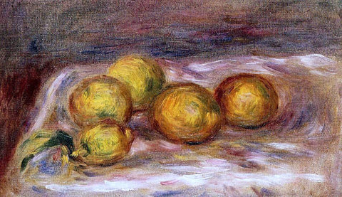Pierre Auguste Renoir Lemons - Hand Painted Oil Painting