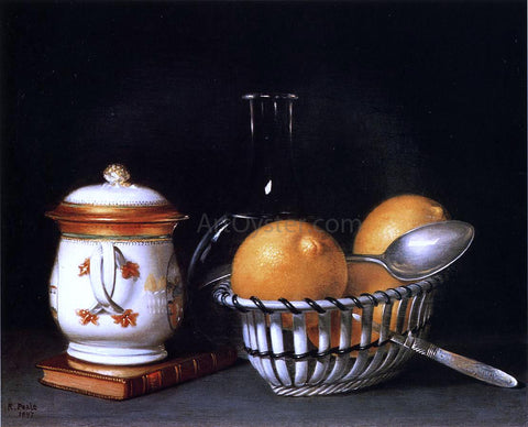 Raphaelle Peale Lemons and Sugar - Hand Painted Oil Painting