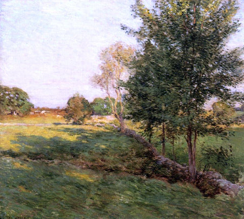 Willard Leroy Metcalf Lenghtening Shadows - Hand Painted Oil Painting