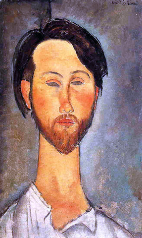 Amedeo Modigliani Leopold Zborowski - Hand Painted Oil Painting