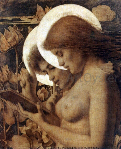 Louis Welden Hawkins Les Aureoles - Hand Painted Oil Painting