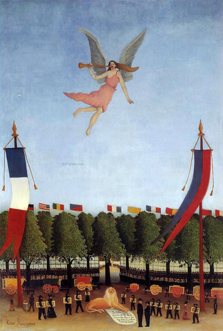 Henri Rousseau Liberty Inviting Artists to Take Part in the 22nd Exhibition of the Society of Independent Artists - Hand Painted Oil Painting