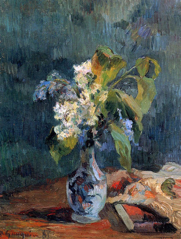 Paul Gauguin Lilac Bouquet - Hand Painted Oil Painting