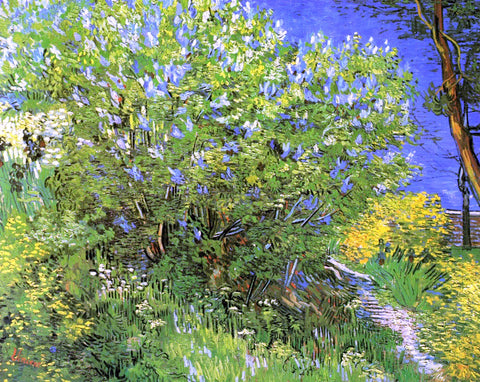 Vincent Van Gogh Lilacs - Hand Painted Oil Painting