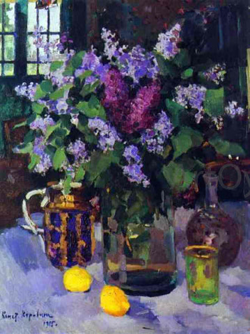 Constantin Alexeevich Korovin Lilacs. Still Life - Hand Painted Oil Painting