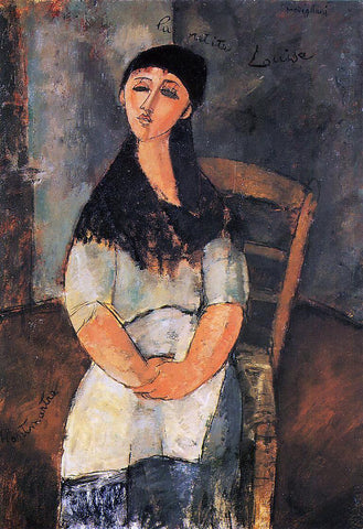 Amedeo Modigliani Little Louise - Hand Painted Oil Painting