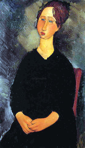 Amedeo Modigliani Little Serving Woman - Hand Painted Oil Painting