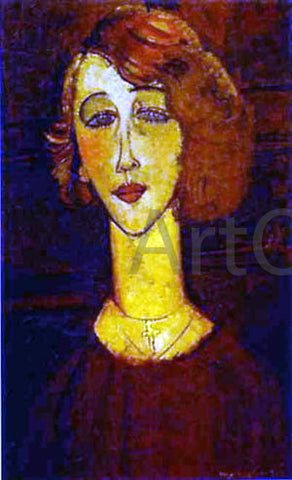 Amedeo Modigliani Lolotte - Hand Painted Oil Painting