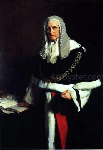 John Singer Sargent Lord Russell of Killowen - Hand Painted Oil Painting
