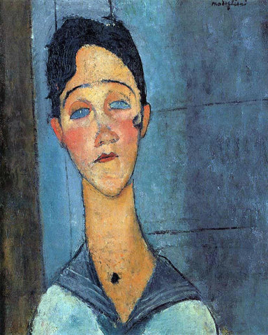 Amedeo Modigliani Louise - Hand Painted Oil Painting
