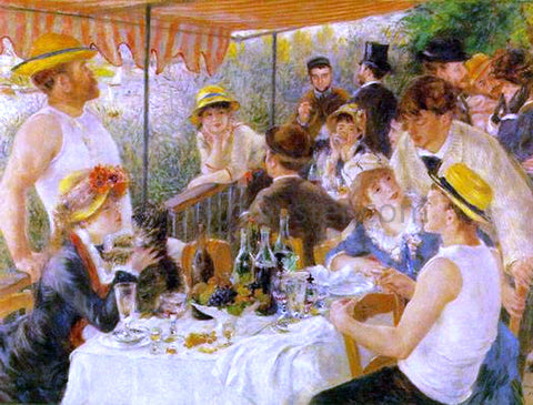 Pierre Auguste Renoir A Luncheon of the Boating Party - Hand Painted Oil Painting