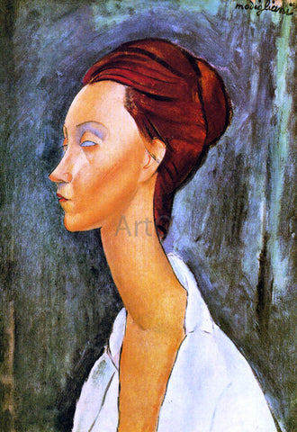 Amedeo Modigliani Lunia Czechovska - Hand Painted Oil Painting