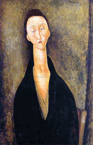 Amedeo Modigliani Lunia Czechowska - Hand Painted Oil Painting