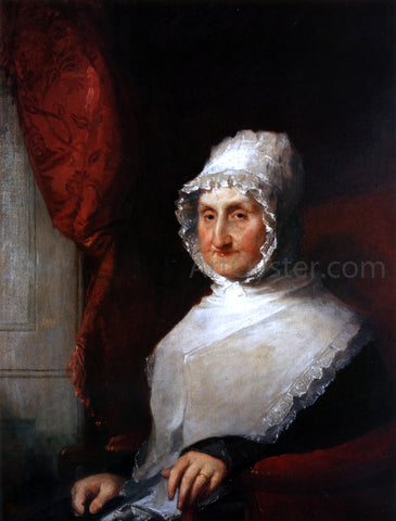 Gilbert Stuart Lydia Pickering Williams - Hand Painted Oil Painting