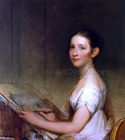 Gilbert Stuart Lydia Smith - Hand Painted Oil Painting