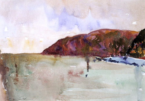 Charles Webster Hawthorne Lynmouth Cliffs - Hand Painted Oil Painting