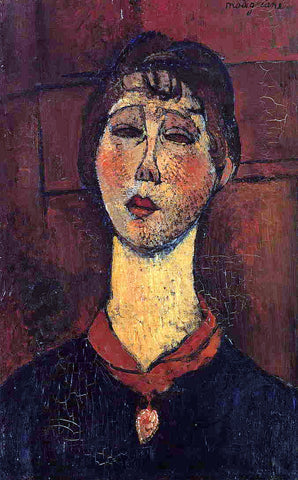 Amedeo Modigliani Madame Dorival - Hand Painted Oil Painting