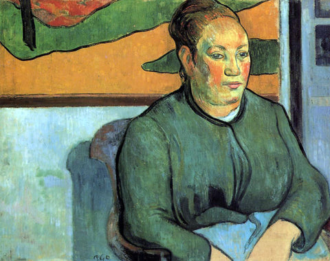 Paul Gauguin Madame Roulin - Hand Painted Oil Painting