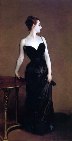 John Singer Sargent Madame X (also known as Madame Pierre Gautreau) - Hand Painted Oil Painting