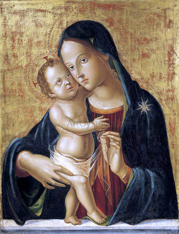 Antoniazzo Romano Madonna and Child - Hand Painted Oil Painting