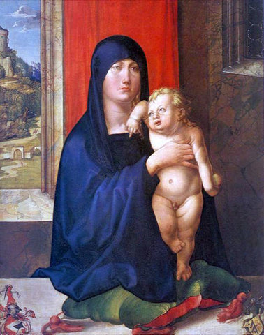Albrecht Durer Madonna and Child - Hand Painted Oil Painting