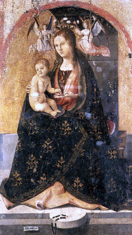 Antonello Da Messina Madonna and Child - Hand Painted Oil Painting