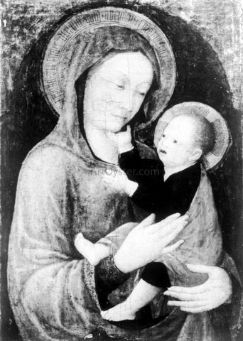 Jacopo Bellini Madonna mit dem Kind - Hand Painted Oil Painting