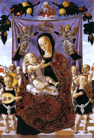 Lazzaro Bastiani Madonna of Humility - Hand Painted Oil Painting