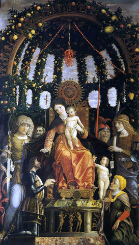 Andrea Mantegna Madonna of Victory - Hand Painted Oil Painting