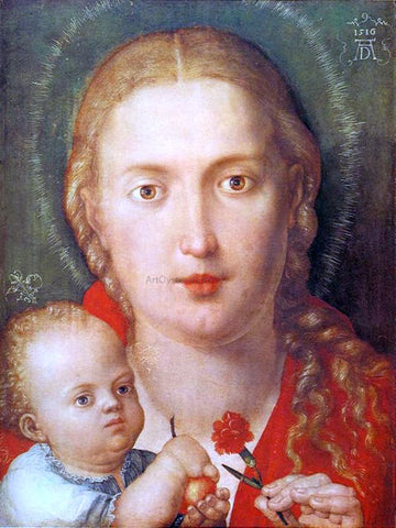 Albrecht Durer Madonna with a Carnation - Hand Painted Oil Painting