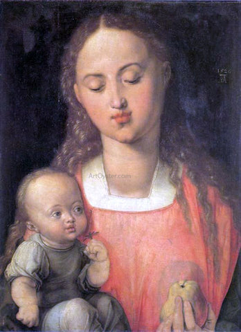 Albrecht Durer Madonna with a Pear - Hand Painted Oil Painting