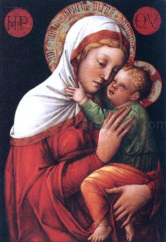 Jacopo Bellini Madonna with Child - Hand Painted Oil Painting