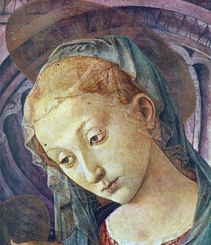 Pesellino Madonna with Child (detail) - Hand Painted Oil Painting