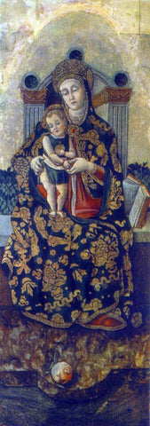 Vittorio Crivelli Madonna with the Child - Hand Painted Oil Painting
