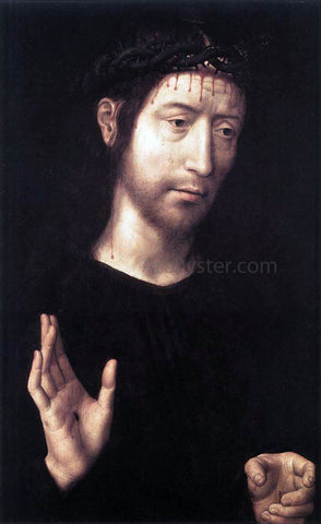 Hans Memling Man of Sorrows - Hand Painted Oil Painting
