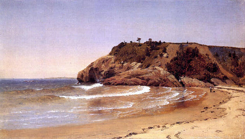 Sanford Robinson Gifford Manchester Beach - Hand Painted Oil Painting