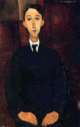 Amedeo Modigliani Manuel Humberg Esteve - Hand Painted Oil Painting