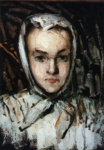 Paul Cezanne Marie Cezanne, the Artist's Sister - Hand Painted Oil Painting