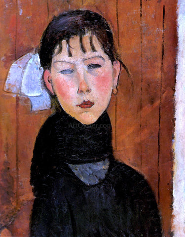 Amedeo Modigliani Marie Daughter of the People - Hand Painted Oil Painting