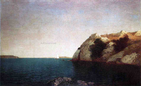 John Frederick Kensett Marine off Big Rock - Hand Painted Oil Painting