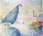 Paul Signac Marseille, Fishing Boats - Hand Painted Oil Painting