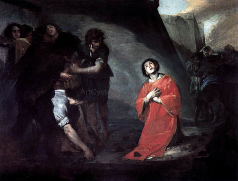 Bernardo Cavallino Martyrdom of St Stephen - Hand Painted Oil Painting