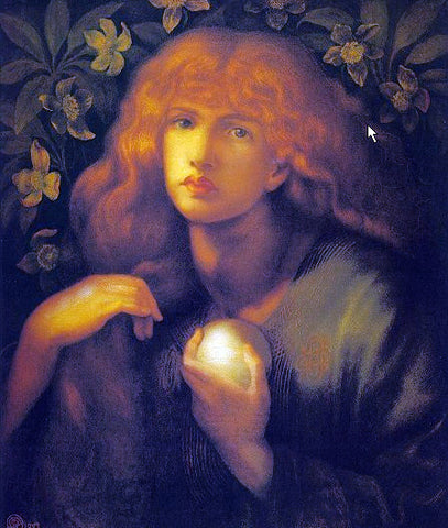 Dante Gabriel Rossetti Mary Magdalen - Hand Painted Oil Painting