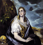 El Greco Mary Magdalen in Penitence - Hand Painted Oil Painting