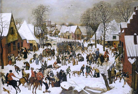 The Younger Pieter Brueghel A Massacre of the Innocents - Hand Painted Oil Painting