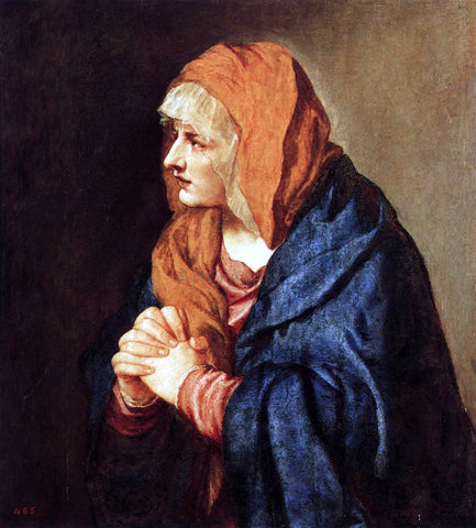 Titian Mater Dolorosa - Hand Painted Oil Painting